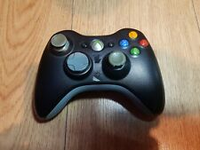 Official Microsoft Xbox 360 Black Wireless Controller - TESTED - fast dispatch