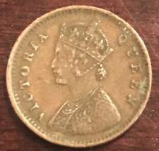 1862 VICTORIA EMPRESS 1/12 ANNA COPPER COIN  K642