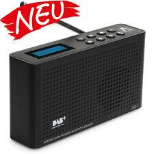 Anadol DAB+ Plus 4 in 1 digital Internet Radio UKW FM WLAN Bluetooth - schwarz