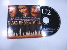 U2 CD Single Europa The Hands That Built America 2002 Promo