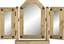 Unbranded Pine Frame Dressing Table Decorative Mirrors