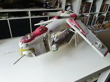 Star Wars Clone LAAT Gunship plus 2x gun turrets/gunners and 2x pilots