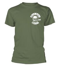 BLACK LABEL SOCIETY - Skull Logo Pocket Olive T-Shirt