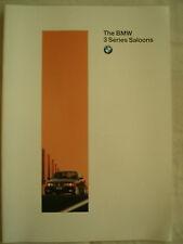 BMW 3 Series Saloon brochure 1995 Ed 2