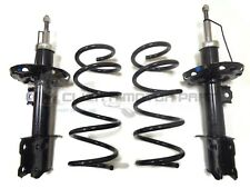 VAUXHALL COMBO 2001-2010 FRONT SUSPENSION 2 SHOCK ABSORBERS + 2 COIL SPRINGS