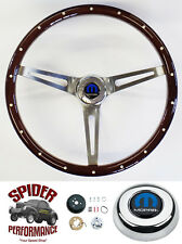 "1970-1974 Charger steering wheel MOPAR 15"" MUSCLE CAR MAHOGANY Foreversharp"