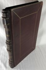 1909 Tax Roll Menasha Winnebago County Book Rare Antique