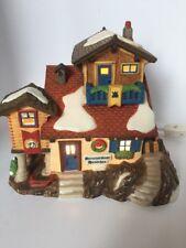 Dept 56 Bernhardiner Hundchen-St Bernard Kennel Alpine Village #56174 1997