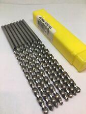 8 Morse Number Drill Bits Taper Length Hss 118 Degree 2 Hi Helix 6 18 Oal