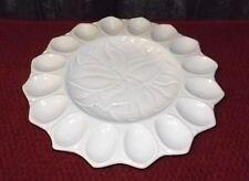 Vintage Deviled Egg Plate Platter USA  S-34