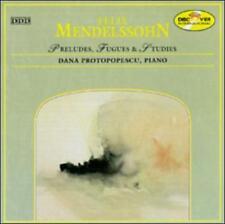 Preludes, Fugues & Etudes Mendelssohn, Protopopescu Audio CD Used - Very Good
