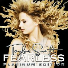 Fearless [2LP] - Taylor Swift (Platinum Edition Vinyl, 2016, 2 Discs)
