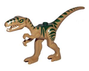 Lego Coelophysis - Gallimimus 5882 Jurassic World Minifigure Dinosaur Authentic