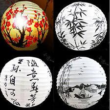 "13"" Lamp Shade Paper Lantern Oriental Style Light Decoration  Chinese  Korean"
