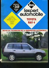 (16B) REVUE TECHNIQUE EXPERT AUTOMOBILE TOYOTA RAV 4
