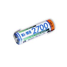 Panasonic hr-3u AA Mignon Batteria 1.2v 2700mah con lötfahne