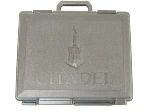 (ZC99) Citadel Black Figure Case With Foams Small Case 40k Sigmar Warhammer