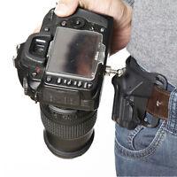 DSLR Camera Waist Belt Buckle Quick Strap Holder Hanger For Canon Nikon Sony SLR