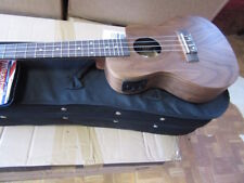 PERFECT ELECTRO ACOUSTIC UKULELE CONCERT SIZE WITH NEW HARD FOAM CASE RRP  £218