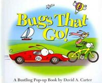BUGS THAT GO! - CARTER, DAVID A. - NEW HARDCOVER BOOK