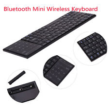 Bluetooth Mini Wireless Keyboard with Touchpad for Windows Mac/IOS Android Black