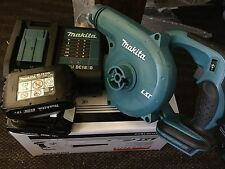 Makita 18V LXT® Lithium-Ion Cordless Blower DUB182Z Charger +2 BL1815n Battery's