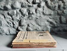 """More details for french vintage """"7 jours"""" ww2 newspaper editions 1 to 30. circa. 1940/1941"""