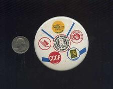1976 World Junior Hockey Championships Soviet Canada Finland  Sweden button