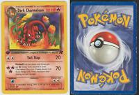 Pokemon Card 1st Edition Team Rocket Uncommon 2000 Dark Charmeleon 32/82