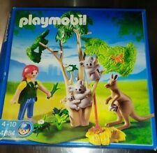 PLAYMOBIL ZOO O3201 Employée Femme Enclos des Koala et Kangourous 4854