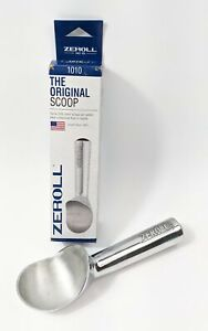 Zeroll 1010 Brown End Cap Ice Cream Metallic Scoop 4 oz NEW