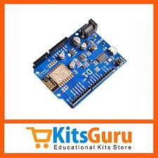 ESP8266 ESP-12E UART WIFI Wireless Shield TTL Converter for Arduino UNO R3 KG602