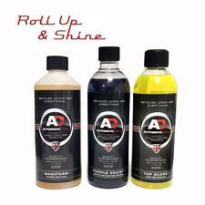 Autobrite Magifoam + Purple Velvet Luxury Shampoo + Top Gloss Drying Aid 500ml
