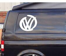 2x Extra Large VW LOGO DESIGN SURF Car/Window VW EURO Vinyl Decal Sticker T4