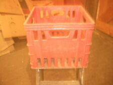 VINTAGE SEALTEST EXTRA THICK  MILK CRATE NO WHITE LETTERING  - MAKE OFFERS!
