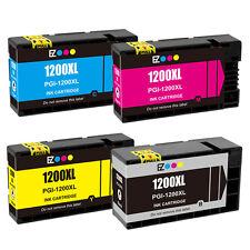 4PK PGI-1200XL Black Cyan Magenta Yellow Ink Cartridge For Canon MAXIFY MB2020