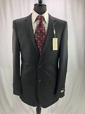Cosani Men's Luxury Wool Gray Blazer Jacket Sport Coat 38L