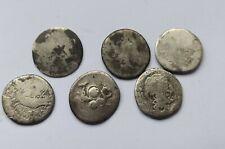 More details for lot of 6 ancient roman republican silver denarii
