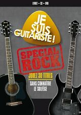 30118/JE SUIS GUITARISTE JOUEZ 30 TITRES SANS CONNAITRE LE SOLFEGE CD  + DVD NF