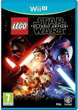 Lego Star Wars The Force Awakens Wii U PAL UK **FREE UK POSTAGE!!**
