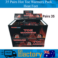 Heat 35 Pairs Hot Toe Heaters Heat Toes Foot Sole 2 Warmers In Line With Percent