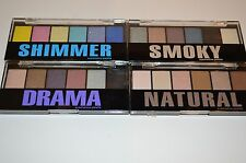 4 EYE SHADOW PALETTE Profusion 4 NEW DIFFERENT PALETTE 24 COLORS TOTAL