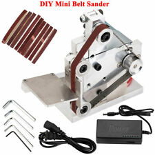 AC 110V  DIY Mini Belt Sander Knife Apex Sharpener Polishing Grinding Machine US