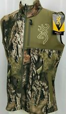Browning Womens SZ XL Hells Canyon Mercury Hunting Vest Scent Control Mossy Oak