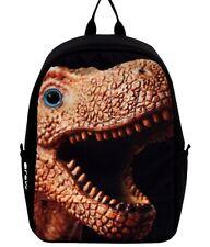 Mojo Dinomite Dinosauro T-Rex Jurassic Animale Lizard Rettile Libro Borsa Zaino