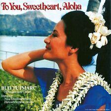Bud Tutmarc - To You, Sweetheart, Aloha 1987 Hawaiian Steel Guitar CD
