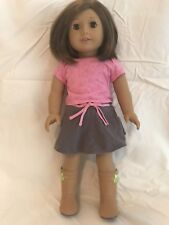 "American Girl Doll Truly Me #57 18"" Mint *IN BOX* Brown Hair & Eyes + FREE BONUS"