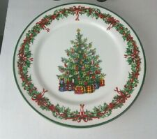 Christopher Radko Dinner Plate Traditions Holiday Celebration Christmas 103/4