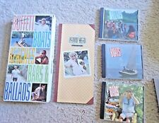 JIMMY BUFFET BOATS, BARS & BALLADS 3 CD SET BOOK & Beach House on Moon