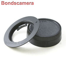 Macro AF confirm M42 Screw Mount Lens to Nikon F mount Adapter Camera D90 Black